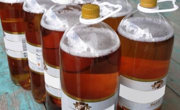 ენგურის ხიდზე ე.წ. მებაჟეებმა ქართული მარკირების მქონე 8 ბოთლი ლუდი